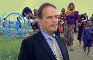 İngiltere'den Myanmar'da Müslümanlara...