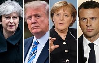 İngiltere, Fransa, Almanya ve ABD'den Rusya'ya...