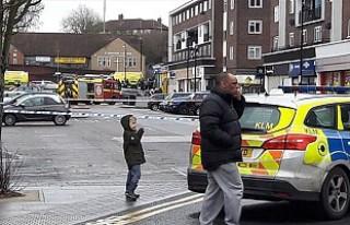 Londra'nın kuzey doğusunda patlama
