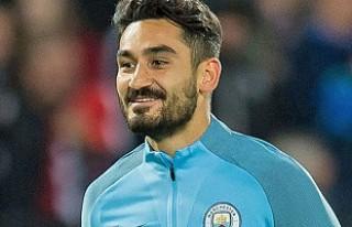 Manchester City'nin yıldızı İlkay Gündoğan,...