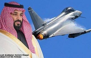 Prens Selman Londra'da 48 Typhoon Savaş Uçağı...