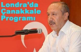 Prof. Mehmet Çelik Londra'da Çanakkale Anma Programında...