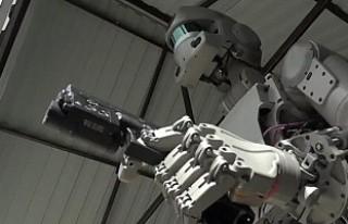 Robot askerler hazır
