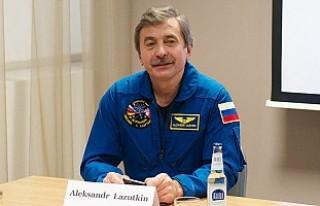 Rus kozmonot uzayda yaşamı anlattı