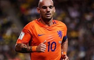 Wesley Sneijder milli takımı bıraktı
