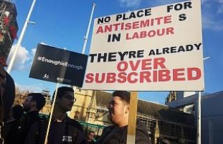 Yahudi örgütünden Corbyn protestosu