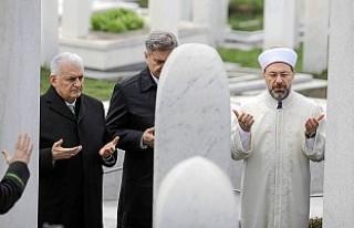 Başbakan Binali Yıldırım, İzzetbegoviç'in...