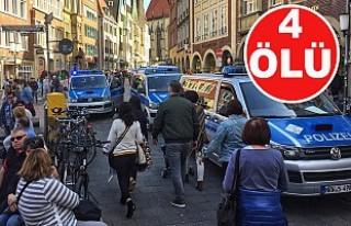 Almanya'da araçla saldırı!