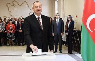 Azerbaycan'da Cumhurbaşkanlığı Seçimini Aliyev'in...