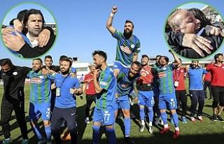 Çaykur Rizespor'da Süper Lig sevinci