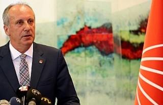 CHP'li İnce Cumhurbaşkanı Adaylığı İçin...