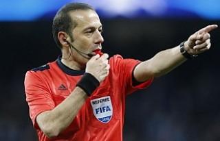 Cüneyt Çakır, Real Madrid-Bayern Münih maçını...