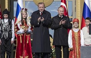 Erdoğan ile Putin, Akkuyu Nükleer Güç Santrali'nin...