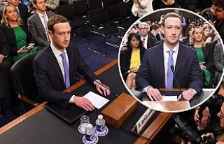 Facebook'un Patronu Zuckerberg ABD Senatosunda...