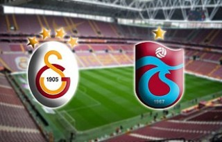 Galatasaray sahasında Trabzonspor'u ağırlayacak