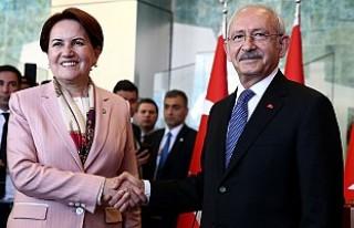 Kılıçdaroğlu, Meral Akşener'le Bir Araya...