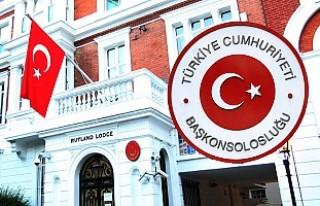 Londra Başkonsolosluğundan İngiltere'deki Türk...