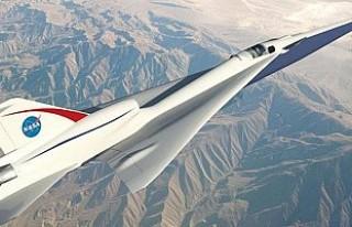 NASA'dan 'sessiz' süpersonik uçak...