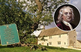 Newton'un Elma Ağacı 'Türbe' Gibi