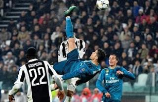 Ronaldo'nun golünü taklit etmeye çalışınca,...