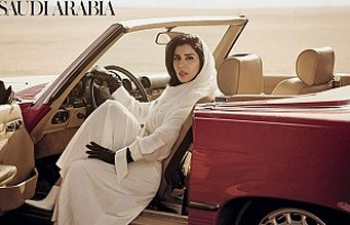 Arap prenses, Vogue dergisine kapak oldu