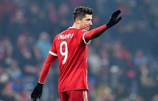Bayern Münih'in golcüsü Lewandowski, takımdan...