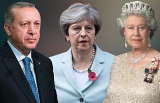 Cumhurbaşkanı Erdoğan İngiltere'yi Ziyaret Edecek