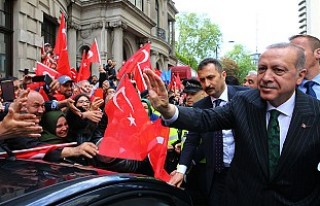 Erdoğan'a Londra'da Yoğun İlgi