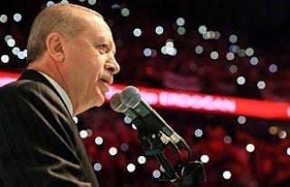 Erdoğan, AK Parti'nin seçim manifestosunu açıkadı