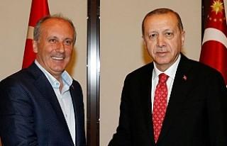 Erdoğan, İnce hakkında suç duyurusunda bulundu
