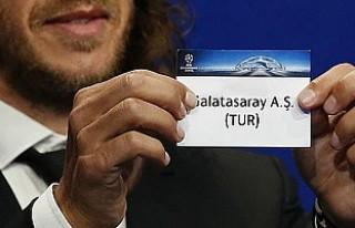 Galatasaray'a Şampiyonlar Ligi hayali kurasında...