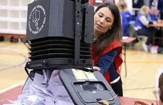 İngiltere'de halk yerel yönetimler için oy...