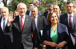 Kılıçdaroğlu, CHP'nin cumhurbaşkanı adayını...