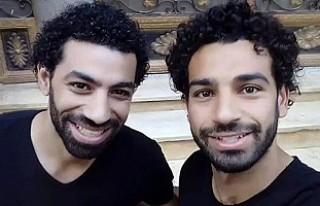 Liverpoollu Salah'ın İkizi sosyal medyaya düştü