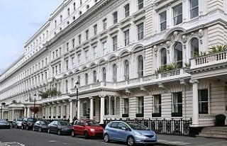 Londra'da konut fiyatları yıllık bazda yüzde...