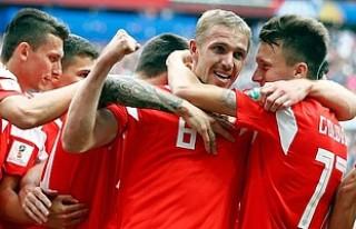 2018 Dünya Kupasının İlk Golü, Rusya'dan...