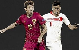 A Milli Futbol Takımı, Rusya Maçının Kadrosu...