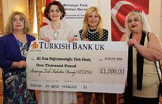 Britanya Türk Kadınları Derneğinden, Londra'daki...