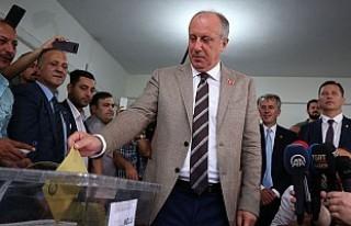 CHP'nin Cumhurbaşkanı adayı İnce oyunu Yalova'da...
