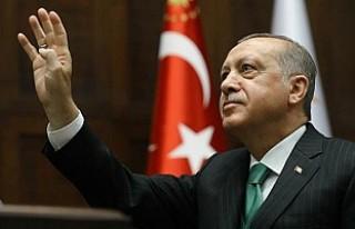 """Erdoğan'ın """"Devam"""" tweeti rekor beğeni..."""