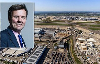 Havalimanının genişletilmesine karşı çıkan...