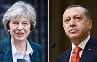 İngiltere Başbakanı May'den, Erdoğan'a...