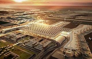 İstanbul Yeni Havalimanı'na ilk inişi, TRT...