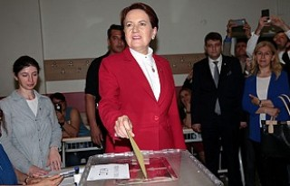 İYİ Parti'nin Cumhurbaşkanı adayı Meral...