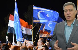 Kerkük'te Türkmenlerin Seçim Protestosu Sürüyor