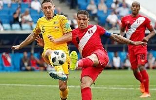 Peru, Dünya kupasına Avustralya galibiyeti ile veda...