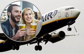 Ryanair'den havalimanlarında alkol satışının...
