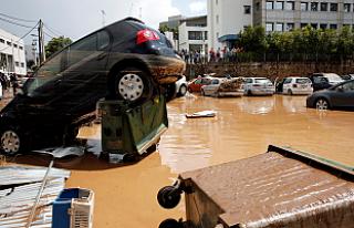 Yunanistan'ın Başkeni Atina'da sel felaketi