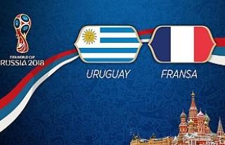 Çeyrek final maçında Uruguay ile Fransa karşılaşıyor!
