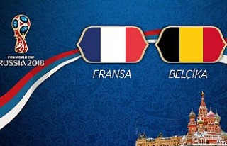 Fransa ile Belçika 74. randevuda